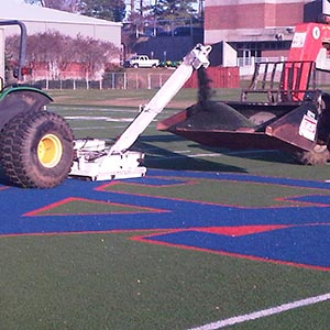 equipment removing turf to be sold as used.